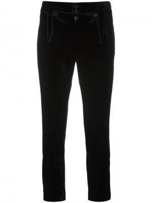 Укороченные брюки Victorian Dsquared2. Цвет: чёрный