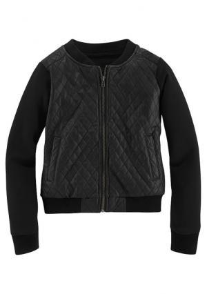 Куртка Arizona. Цвет: черный