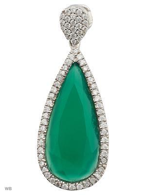 Подвеска FRESH Jewelry. Цвет: серебристый
