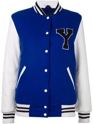 Спортивная куртка Manokhi. Цвет: синий