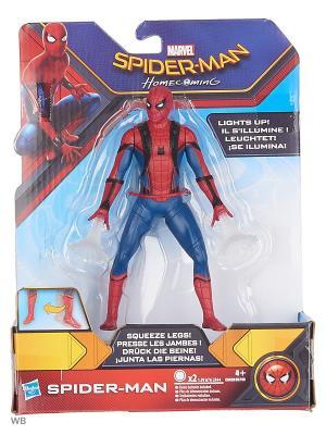 Фигурки человека-паука паутинный город 15 см Spider-Man. Цвет: темно-синий, прозрачный, темно-красный