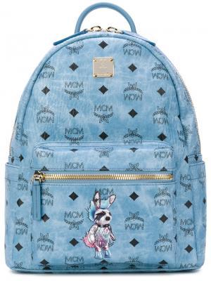 Punk Rabbit backpack MCM. Цвет: синий