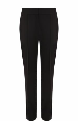 Укороченные брюки прямого кроя со стрелками Escada. Цвет: черный