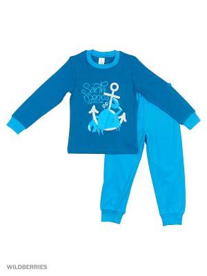 Пижама PEPELINO. Цвет: темно-синий