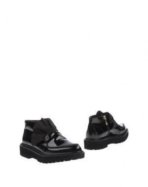 Полусапоги и высокие ботинки SUECOMMA BONNIE. Цвет: черный