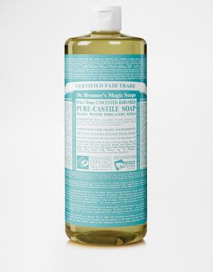 Dr. Bronner Органическое кастильское жидкое мыло без запаха для чувствительной кож. Цвет: без запаха