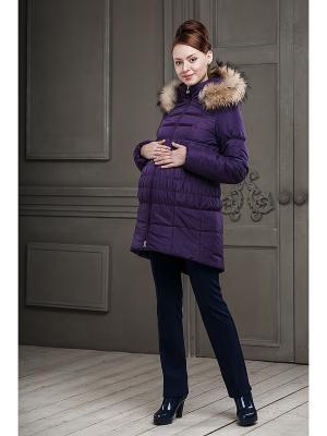 Куртка DIDILIYA. Цвет: фиолетовый