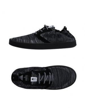 Низкие кеды и кроссовки VOLTA. Цвет: стальной серый