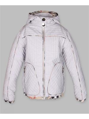 Куртка Arista. Цвет: светло-серый