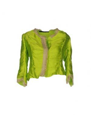Пиджак ANNARITA N.. Цвет: кислотно-зеленый