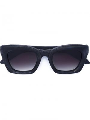 Солнцезащитные очки Mask F2 Kuboraum. Цвет: чёрный