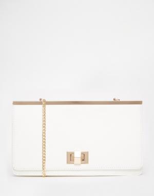 Juno Accessories Клатч. Цвет: белый