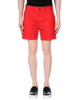 Повседневные шорты CLUB MONACO. Цвет: красный