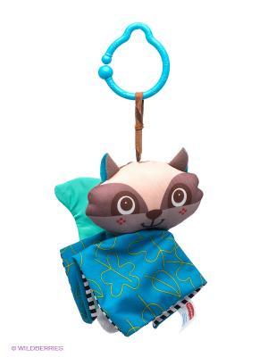 Игрушка подвесная Веселый енот Tiny Love. Цвет: голубой