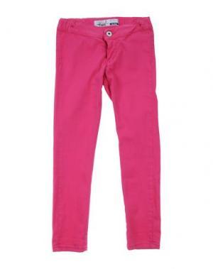 Джинсовые брюки TAKE-TWO TEEN. Цвет: фуксия
