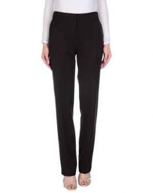 Повседневные брюки PAULIE. Цвет: темно-коричневый