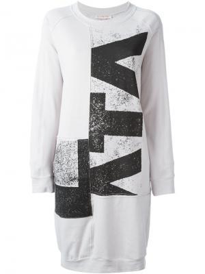 Платье 161 Flatland A.F.Vandevorst. Цвет: серый