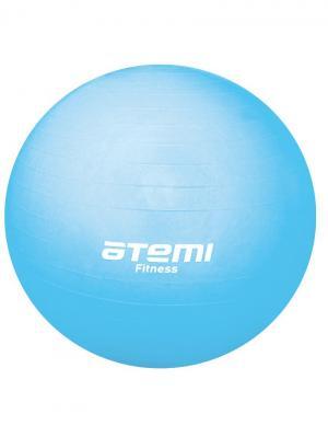 Мяч гимнастический 65 см. Atemi. Цвет: голубой