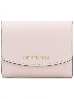 Визитница Ava Michael Kors. Цвет: розовый и фиолетовый