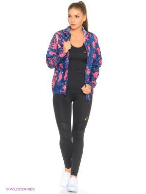 Куртка FujiTrail Pack Jkt ASICS. Цвет: синий, розовый
