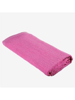 Полотенце махровое эконом, 100% хлопок, 70х140см KONONO. Цвет: фиолетовый