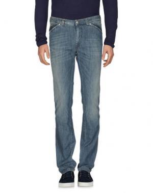 Джинсовые брюки J.W. BRINE. Цвет: синий