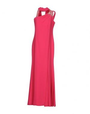 Длинное платье MUSANI COUTURE. Цвет: фуксия