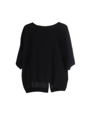 Блузка RIVAGE. Цвет: черный