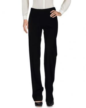 Повседневные брюки STEFANO MORTARI. Цвет: черный