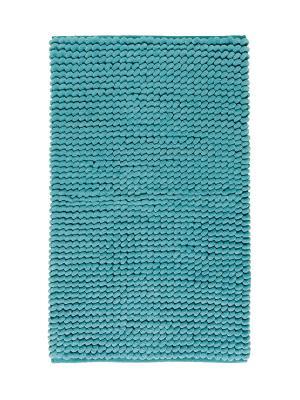 Коврик для ванной LUKA 60x100 Aquanova. Цвет: голубой