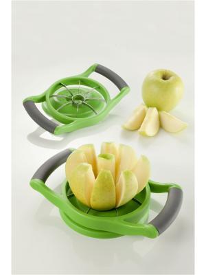 Форма для резки дольками яблок и груш Brandani. Цвет: зеленый