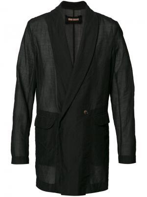 Пиджак свободного кроя Uma Wang. Цвет: чёрный