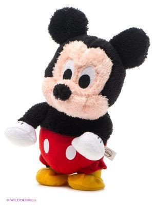 Шагающий Микки, 25 см. Disney. Цвет: черный, бежевый, красный