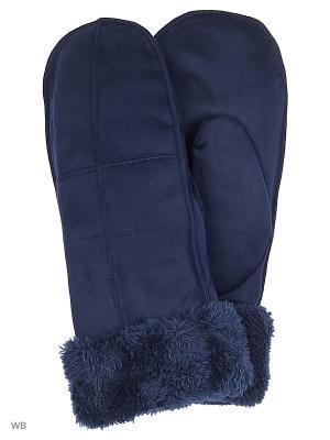 Варежки Punta. Цвет: синий