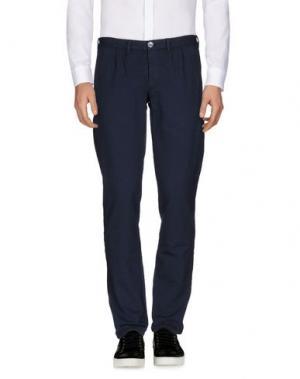 Повседневные брюки CIRCOLO 1901. Цвет: грифельно-синий