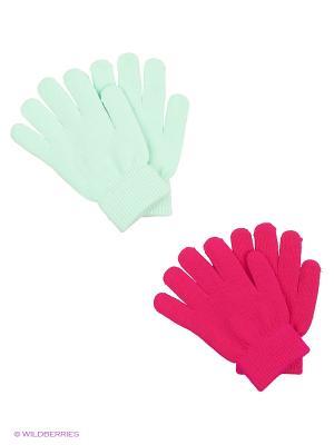 Перчатки Luhta. Цвет: зеленый