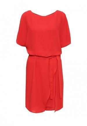 Платье Top Secret. Цвет: красный
