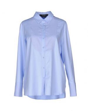 Pубашка TY-LR. Цвет: небесно-голубой