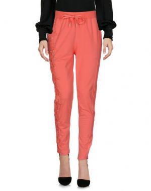 Повседневные брюки FRACOMINA. Цвет: коралловый