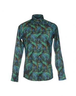 Pубашка RICHARD JAMES. Цвет: светло-зеленый