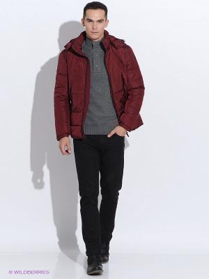 Пуховик Baon. Цвет: бордовый