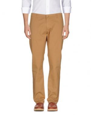 Повседневные брюки GREY DANIELE ALESSANDRINI. Цвет: верблюжий
