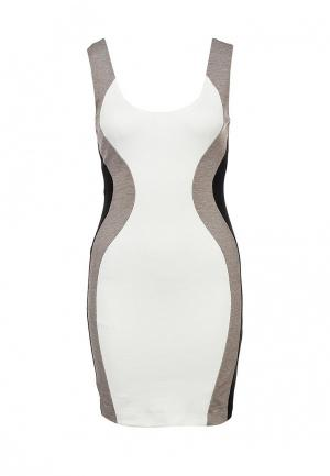 Платье Ark & co. Цвет: серый