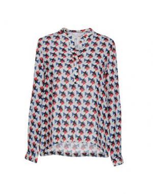 Pубашка ANONYME DESIGNERS. Цвет: слоновая кость