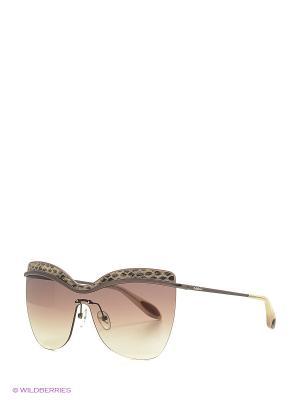 Солнцезащитные очки BLD 1618 101 Baldinini. Цвет: темно-серый