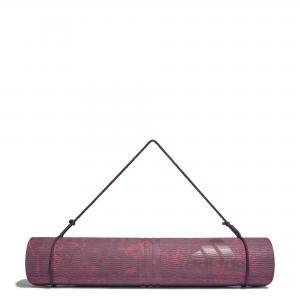 Коврик для йоги Camo  Performance adidas. Цвет: красный