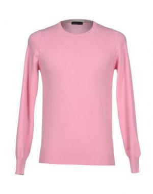Свитер MAGLIARO. Цвет: розовый