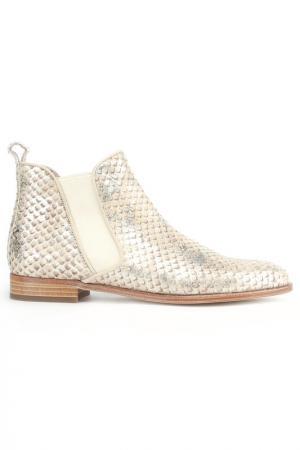 Ботинки Pertini. Цвет: золотой