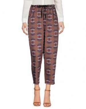 Повседневные брюки VICOLO. Цвет: хаки