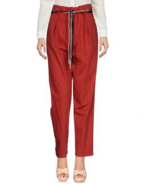 Повседневные брюки ATOS LOMBARDINI. Цвет: красный